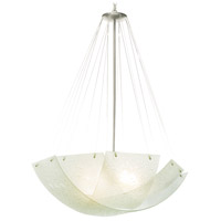 Cirrus 5 Light 36 inch Satin Nickel Pendant Ceiling Light in MB