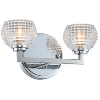 Kalco 510032CH Marina LED 11 inch Chrome Bath Vanity Wall Light