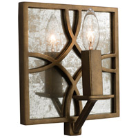 Kalco 501220PAB Claxton 1 Light 8 inch Pearlized Antique Brass ADA Wall Sconce Wall Light