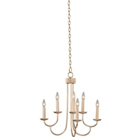 Kalco Modern Gold Steel Chandeliers