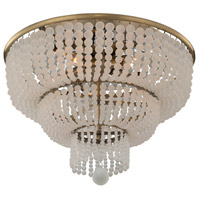Kalco 511841BCG Esperanza 5 Light 18 inch Brushed Champagne Gold Flush Mount Ceiling Light