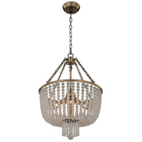 Kalco 511855BCG Esperanza 4 Light 16 inch Brushed Champagne Gold Pendant Ceiling Light