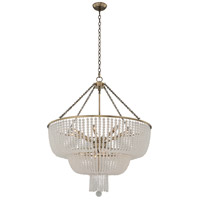 Kalco 511857BCG Esperanza 12 Light 32 inch Brushed Champagne Gold Pendant Ceiling Light