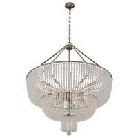 Kalco 511858BCG Esperanza 15 Light 39 inch Brushed Champagne Gold Pendant Ceiling Light