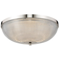 Kalco 512142PN Portland LED 16 inch Polished Nickel Flush Mount Ceiling Light