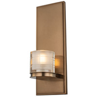 Kalco 512421LB Library LED 4 inch Library Brass Wall Sconce Wall Light