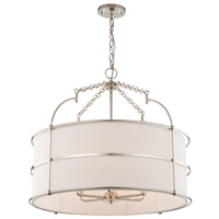 Kalco 513255PN Carson 26 inch Polished Nickel Pendant Ceiling Light