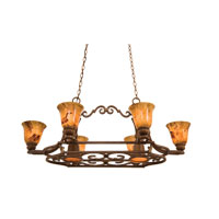 Kalco Avondale 6 Light Pot Rack in Toscana 5171TC/PS11