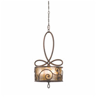Windsor 5 Light 14 inch Aged Silver Pendant Ceiling Light in Without Shade, Antique Copper