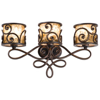 Windsor 9 Light 29 inch Antique Copper Bath Light Wall Light in Without Shade