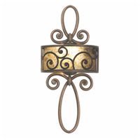 Windsor 1 Light 12 inch Antique Copper Wall Sconce Wall Light in Without Shade