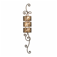 Windsor 3 Light 10 inch Aged Silver Wall Sconces Wall Light in Without Shade, Antique Copper