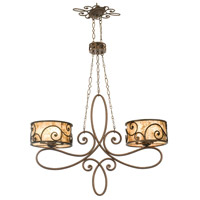 Windsor 10 Light 42 inch Antique Copper Island Light Ceiling Light in Without Shade