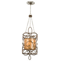 Kalco Lighting Windsor 12 Light Chandelier in Antique Copper 5410AC