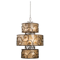 Kalco 5411AC Windsor 12 Light 45 inch Antique Copper Foyer Ceiling Light in Without Shade