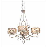 Kalco 5412SV Windsor 20 Light 47 inch Aged Silver Chandelier Ceiling Light