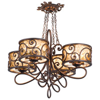 Windsor 16 Light 31 inch Aged Silver Chandelier Ceiling Light in Without Shade, Antique Copper