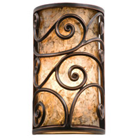 Windsor 1 Light 7 inch Aged Silver Wall Sconces Wall Light in Without Shade, Antique Copper