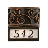 KalcoWindsor 1 Light Wall Sconce in Antique Copper 5417AC-NUM