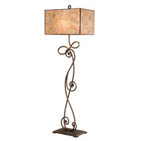 Kalco 5419AC Windsor 63 inch 75 watt Antique Copper Floor Lamp Portable Light in Without Shade