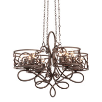 Windsor 16 Light 31 inch Antique Copper Chandelier Ceiling Light