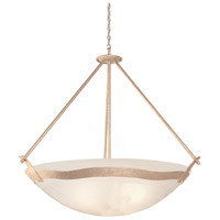 Kalco 5459MG/ALAB Aegean 6 Light 40 inch Modern Gold Pendant Ceiling Light