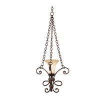 Amelie 1 Light 18 inch Antique Copper Mini Pendant Ceiling Light in Stone (1577)