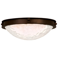 Kalco Lighting Newport 2 Light Flush Mount in Satin Bronze 5756SZ