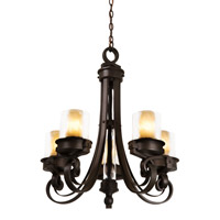 Kalco Lighting Newport 5 Light Chandelier in Satin Bronze 5762SZ/CALC