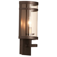 Kalco 5795BZ Morris 1 Light 6 inch Bronze ADA Wall Bracket Wall Light in Without Glass