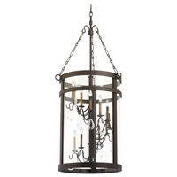 Kalco Lighting Morris 12 Light Foyer Light in Bronze 5804BZ