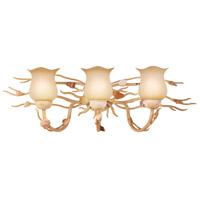 Kalco Atlantis 3 Light Bath Light in Coral 6073CR