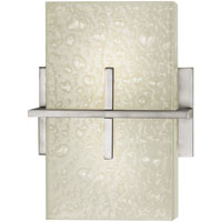 Cirrus 2 Light 8 inch Satin Nickel ADA Wall Bracket Wall Light in Without Glass