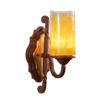 Kalco 6101TP-2/LINEN Durango 1 Light 6 inch Tawny Port Vanity Light Wall Light in Linen (LINEN)