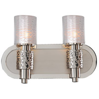 Ashington 2 Light 14 inch Polished Satin Nickel Vanity Light Wall Light
