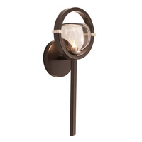 Lunaire 1 Light 7 inch Old Bronze Wall Sconce Wall Light