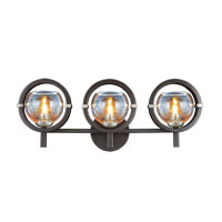 Lunaire 3 Light 23 inch Old Bronze Wall Bracket Wall Light