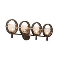 Kalco 6304OB-1 Lunaire 4 Light 31 inch Old Bronze Wall Sconce Wall Light