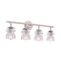 Brierfield 4 Light 28 inch Pearl Silver Vanity Light Wall Light