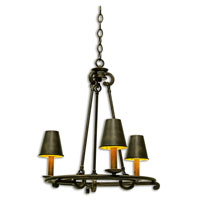 Kalco Fairford 3 Light Chandelier in Sienna Bronze 6338SB