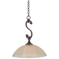 Arroyo 1 Light 15 inch Antique Copper Pendant Ceiling Light