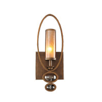 Kalco Sandhurst 1 Light Wall Bracket in Etruscan Bronze 6551EZ