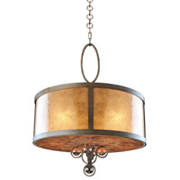Kalco Lighting Sandhurst 5 Light Pendant in Antique Brass 6556AB