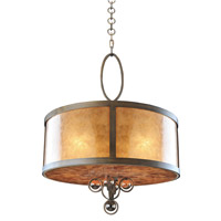 Kalco Sandhurst 5 Light Pendant in Etruscan Bronze 6556EZ