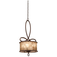 Whitfield 5 Light 15 inch Aged Silver Mini Pendant Ceiling Light in Without Shade, Antique Copper