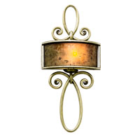Kalco Lighting Whitfield 1 Light Wall Sconce in Antique Copper 6575AC