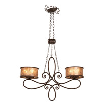 Kalco Lighting Whitfield 10 Light Island in Antique Copper 6577AC