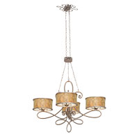 Kalco Whitfield 20 Light Chandelier in Antique Copper 6582AC