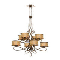 Whitfield 40 Light 60 inch Aged Silver Chandelier Ceiling Light in Without Shade, Antique Copper FALL CLEARANCE