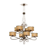 Whitfield 40 Light 60 inch Aged Silver Chandelier Ceiling Light in Without Shade